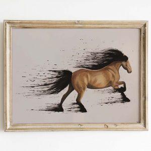 اسب مدادرنگی